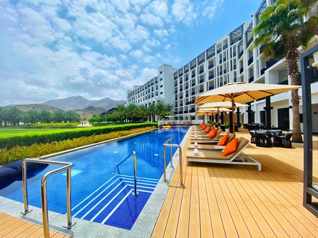Fashionable hotel